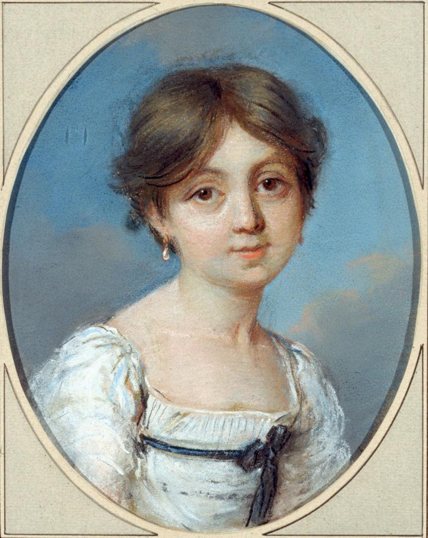 George Sand enfant par Aurore de Saxe