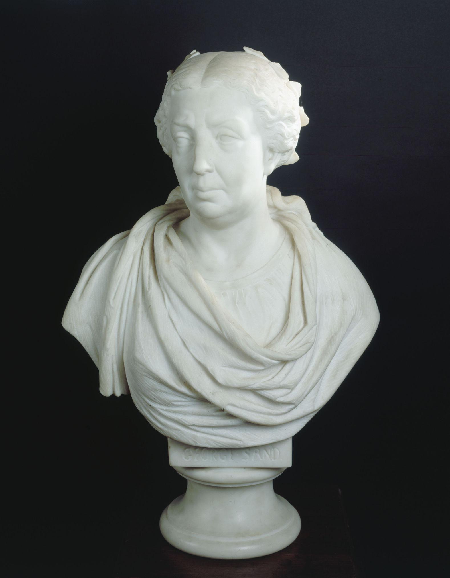 George Sand en 1847, Jean-Baptiste Clesinger