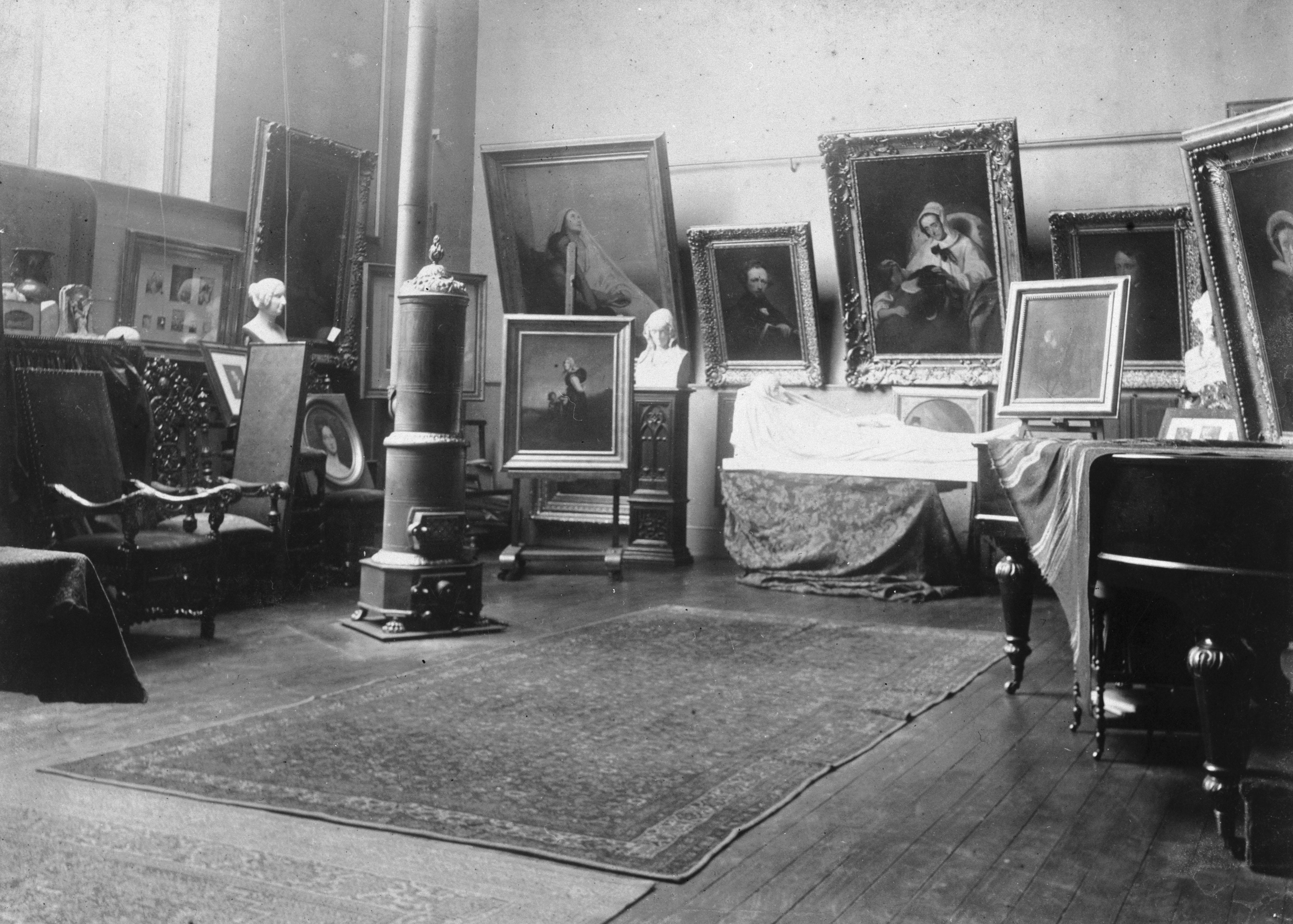 Atelier d'Ary Scheffer