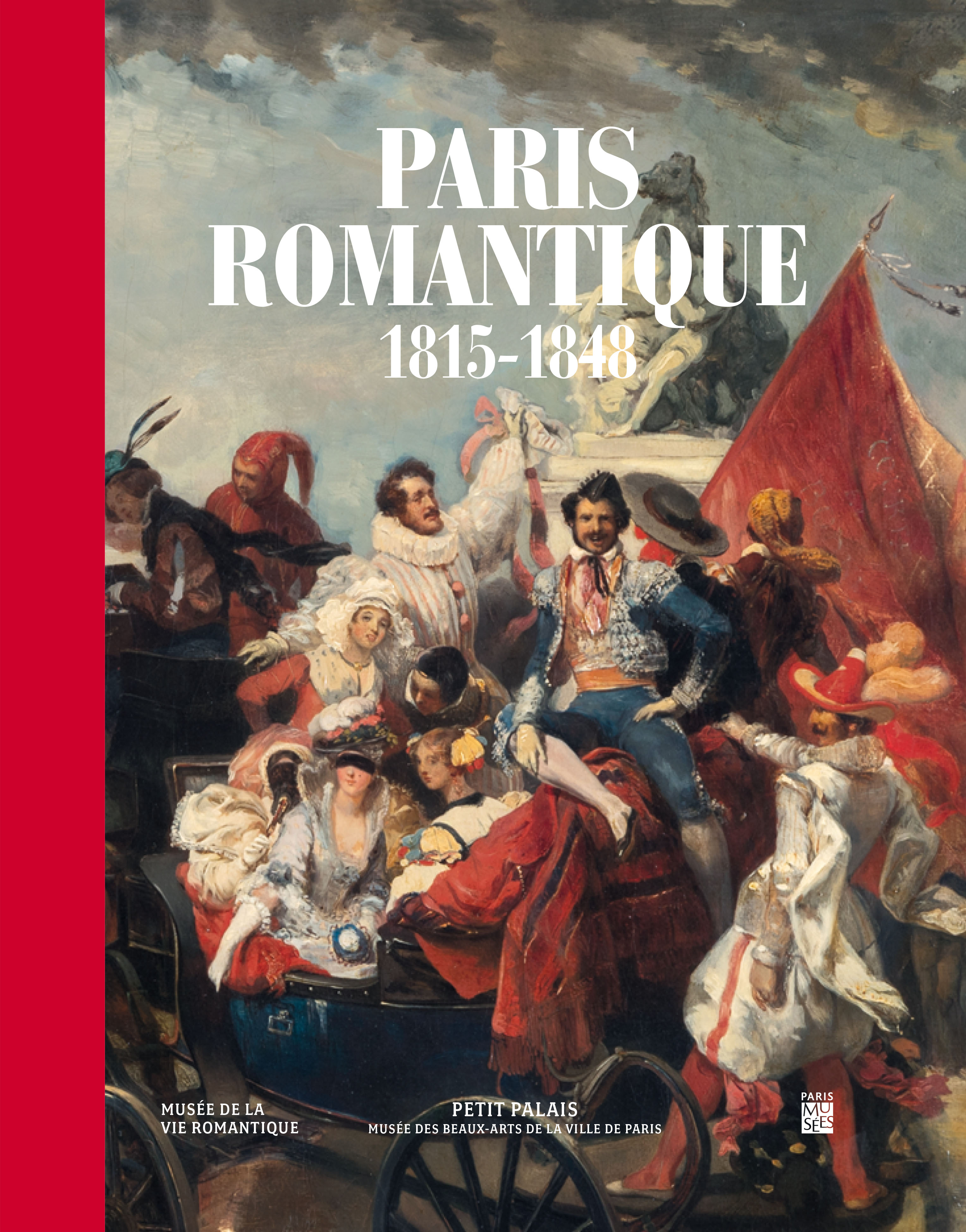 Couverture du catalogue Paris romantique