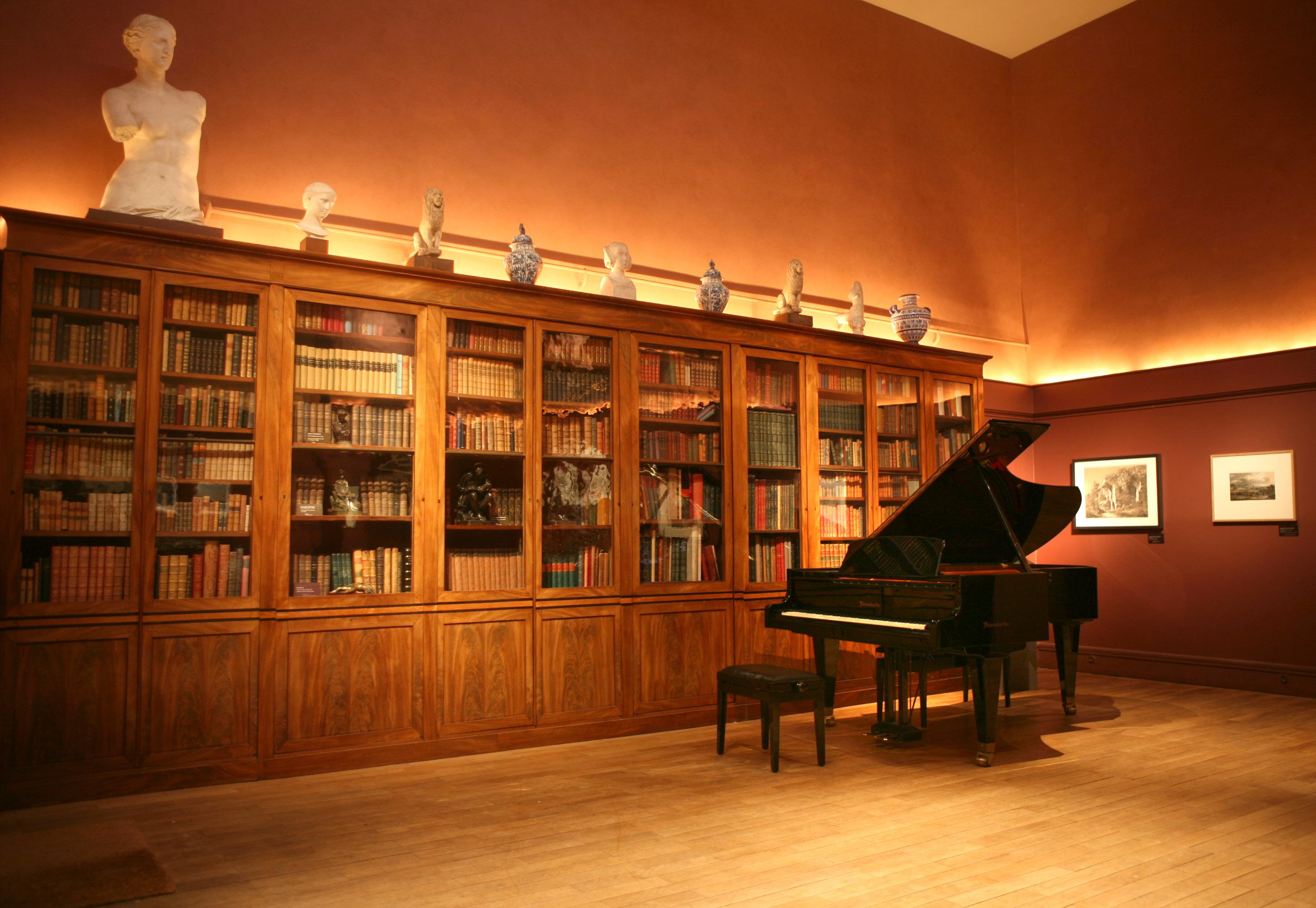 Tournages et prises de vues mus e de la vie romantique - Musee de la vie romantique salon de the ...