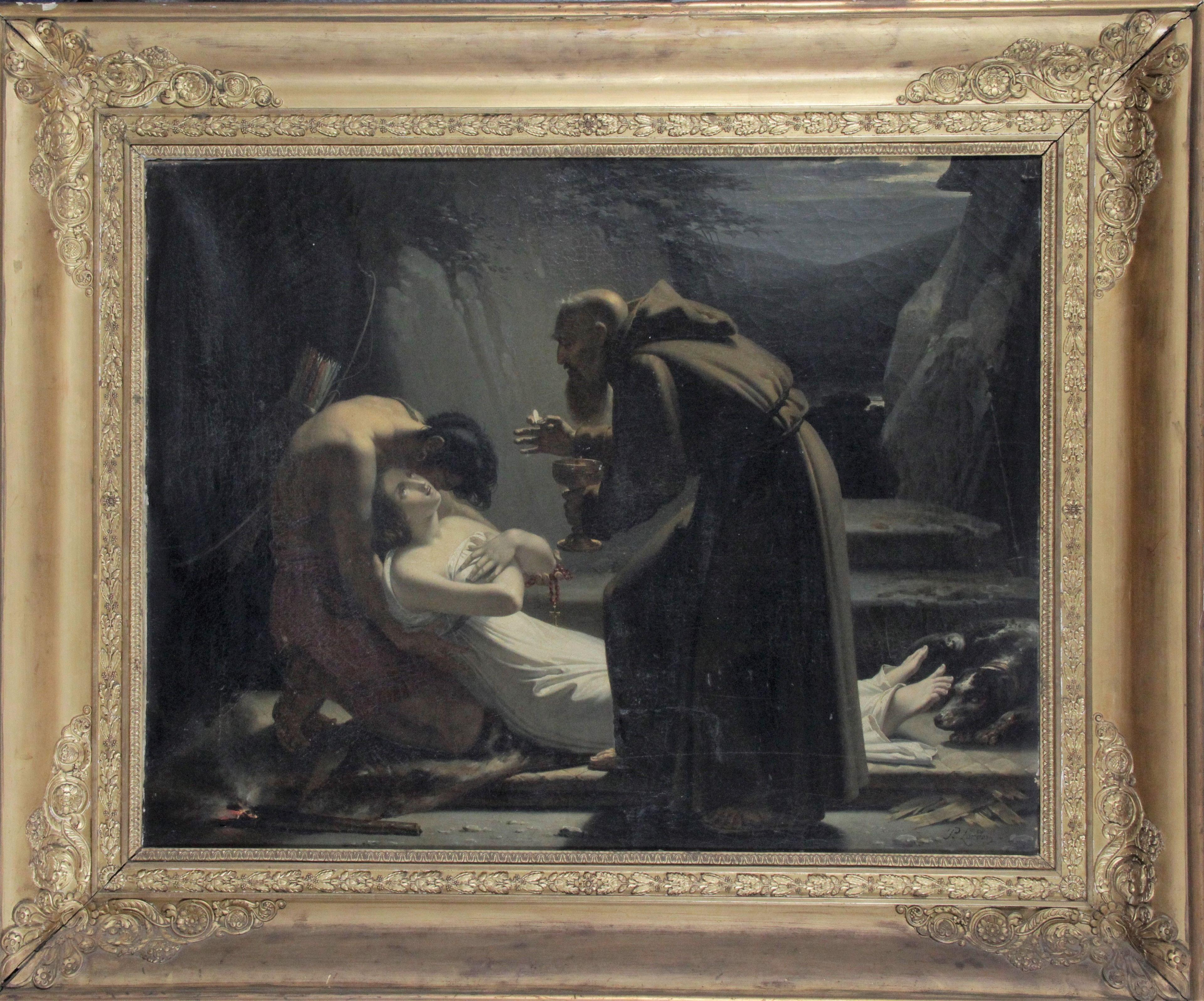 Pierre-Jérôme Lordon (1780-1838). La communion d'Atala, 1808