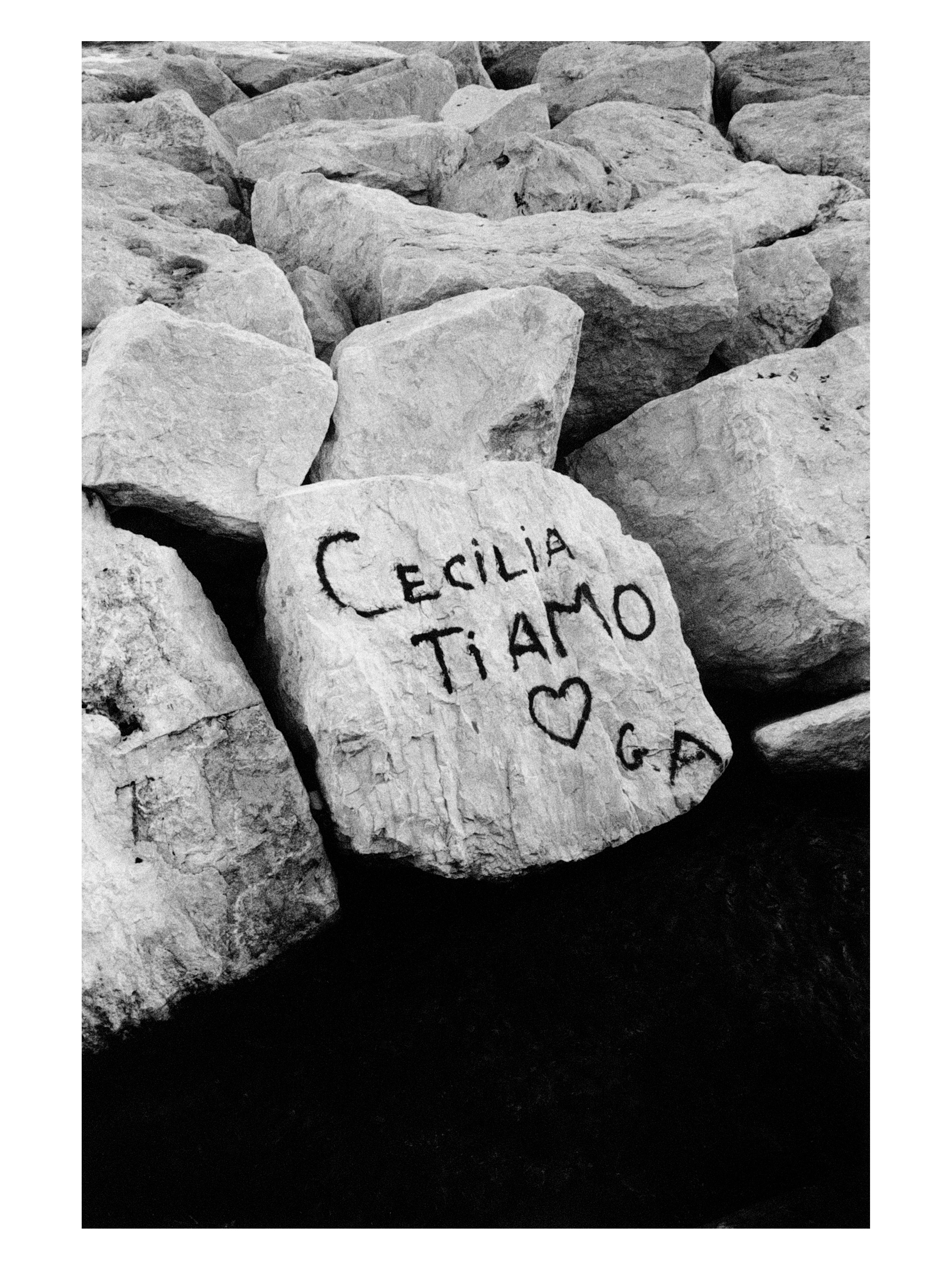Claude Nori, Napoli, 1982, Photographie tirage lambda sur papier baryté, 30 x 40 cm © Claude Nori, Courtesy Polka Galerie Paris France