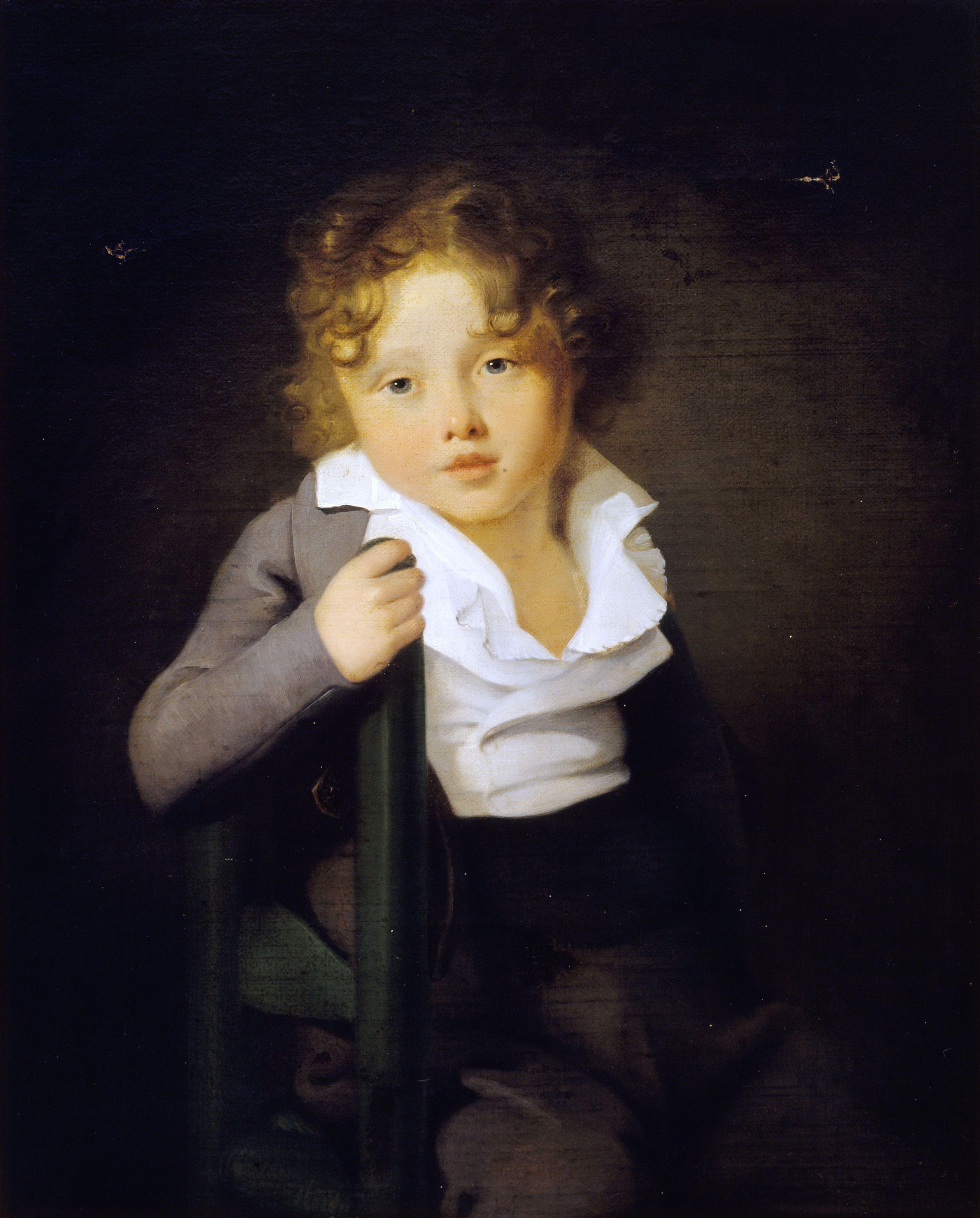 Portrait d'Ary Scheffer enfant par son père